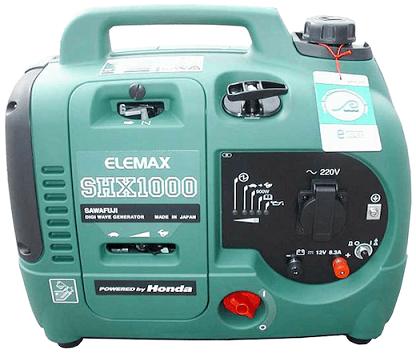 elemax shx series