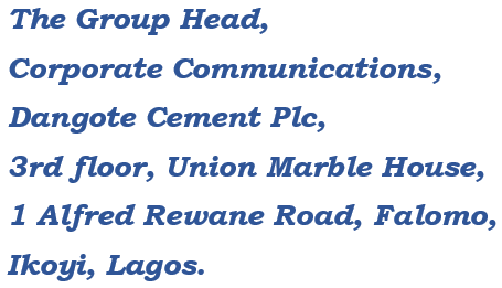 dangote cement distributor
