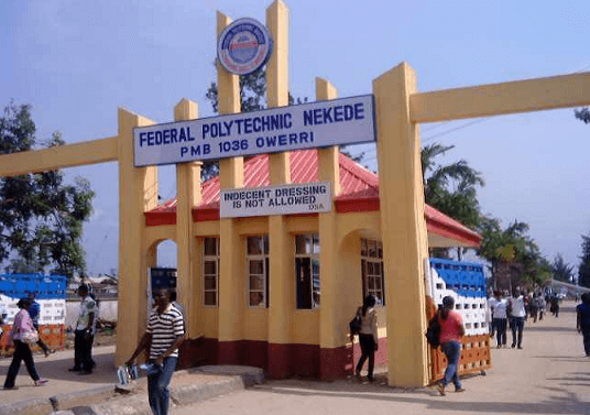Federal Polytechnic Nekede School Fees (2021)