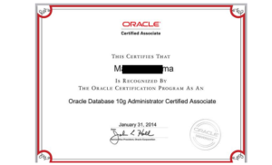 cost of oracle certification in nigeria