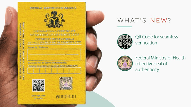 Cost of Yellow Card in Nigeria (September 2021)
