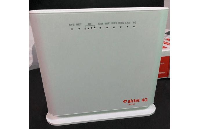 Airtel 4G Router Price in Nigeria (October 2021)