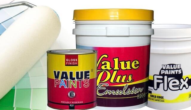 value paints price in nigeria