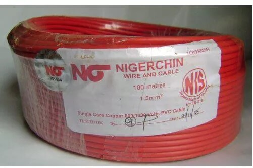 Nigerchin Cable Price List