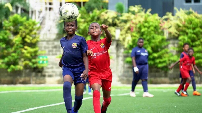 Best Football Academies in Nigeria and registration costs