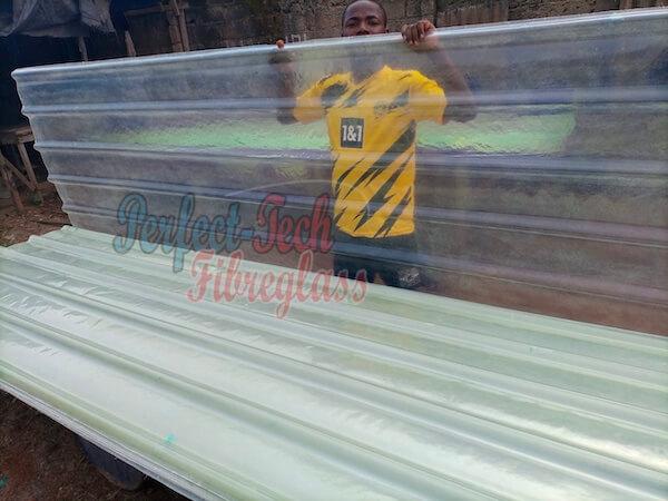 fibreglass roofing sheet price in nigeria