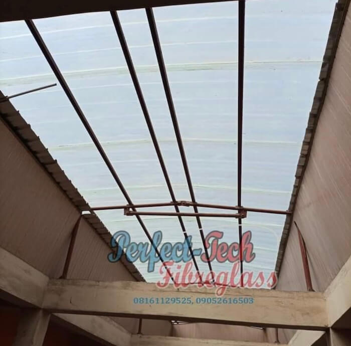 transparent roofing sheet 1